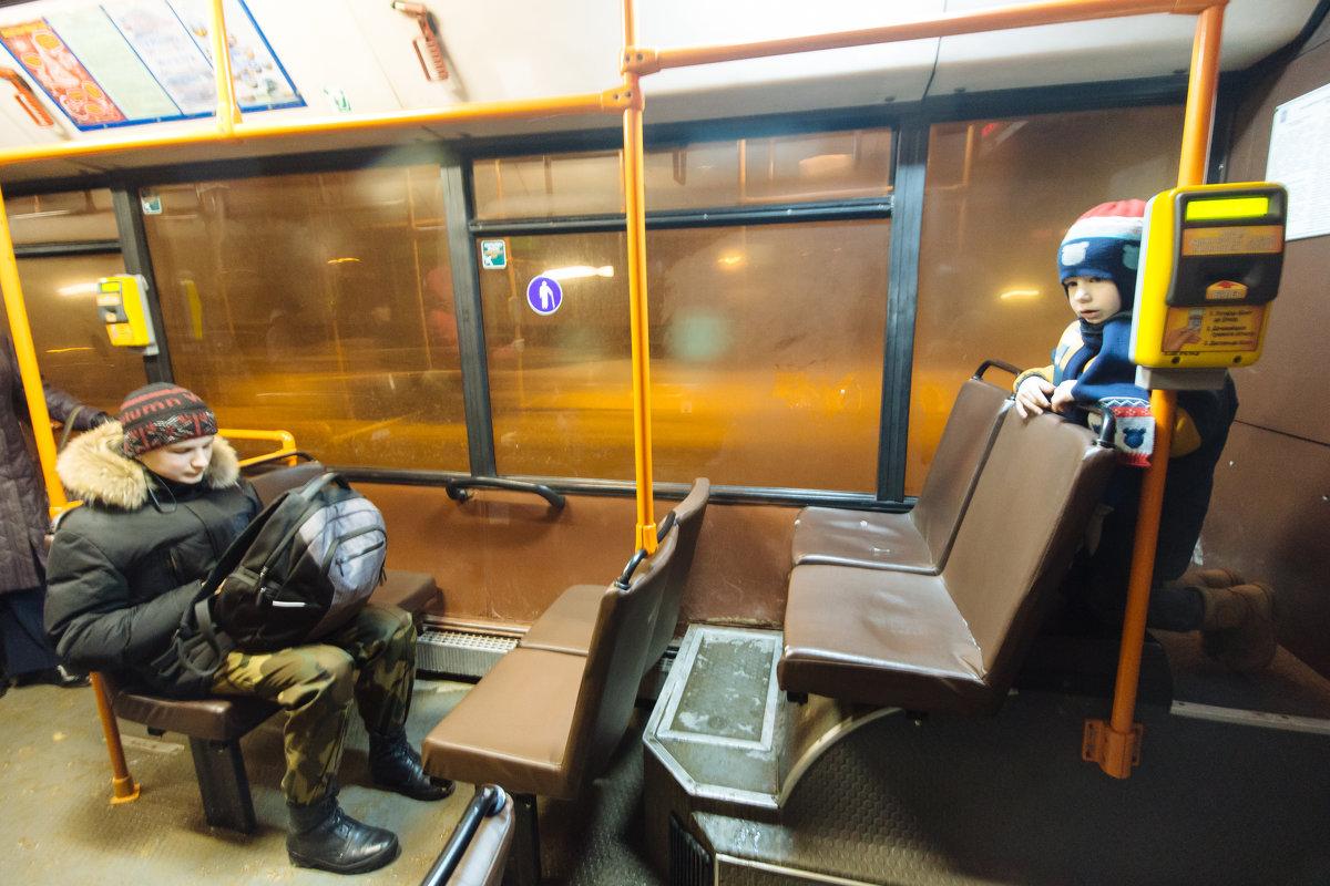 В автобусе - Николай Н