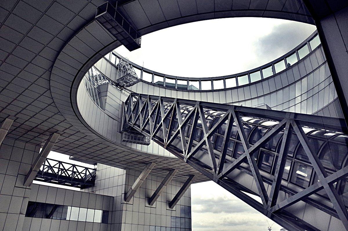 Осака Umeda Sky Building - Alm Lana