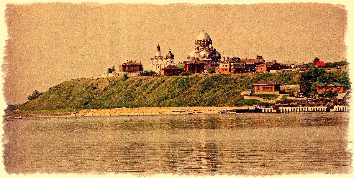 Подплывая к волжскому форпосту Ивана IV (Грозного) - Андрей Головкин