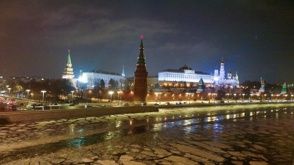 Зимняя Москва - Екатерррина Полунина