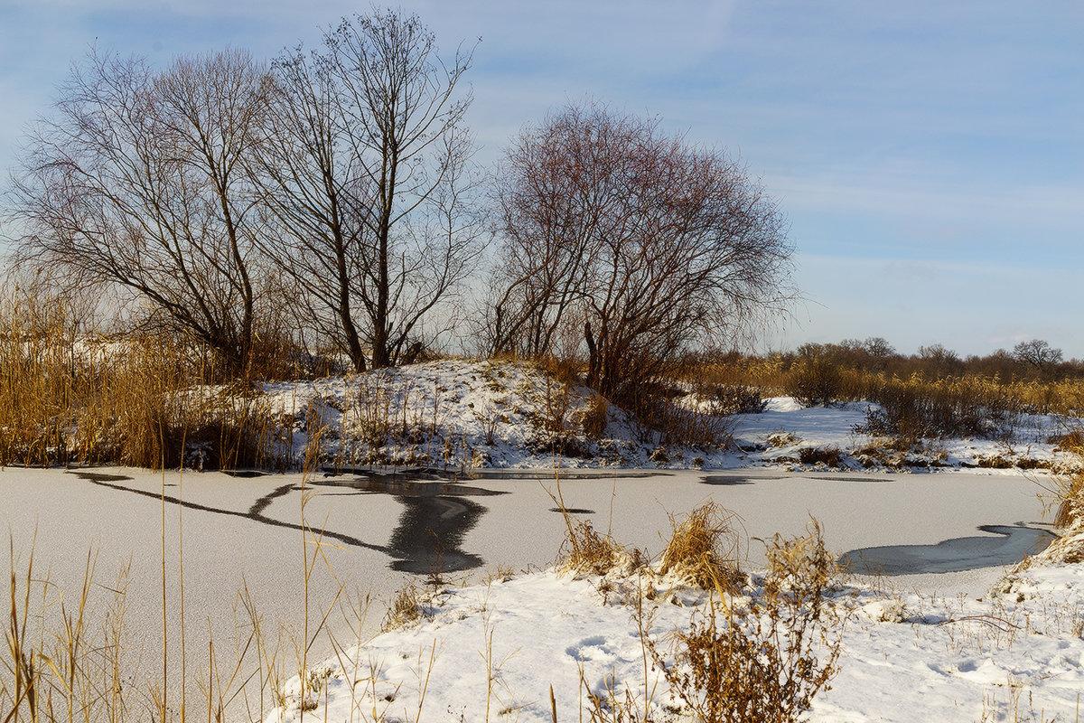 Зимнее озеро - Оксана Лада