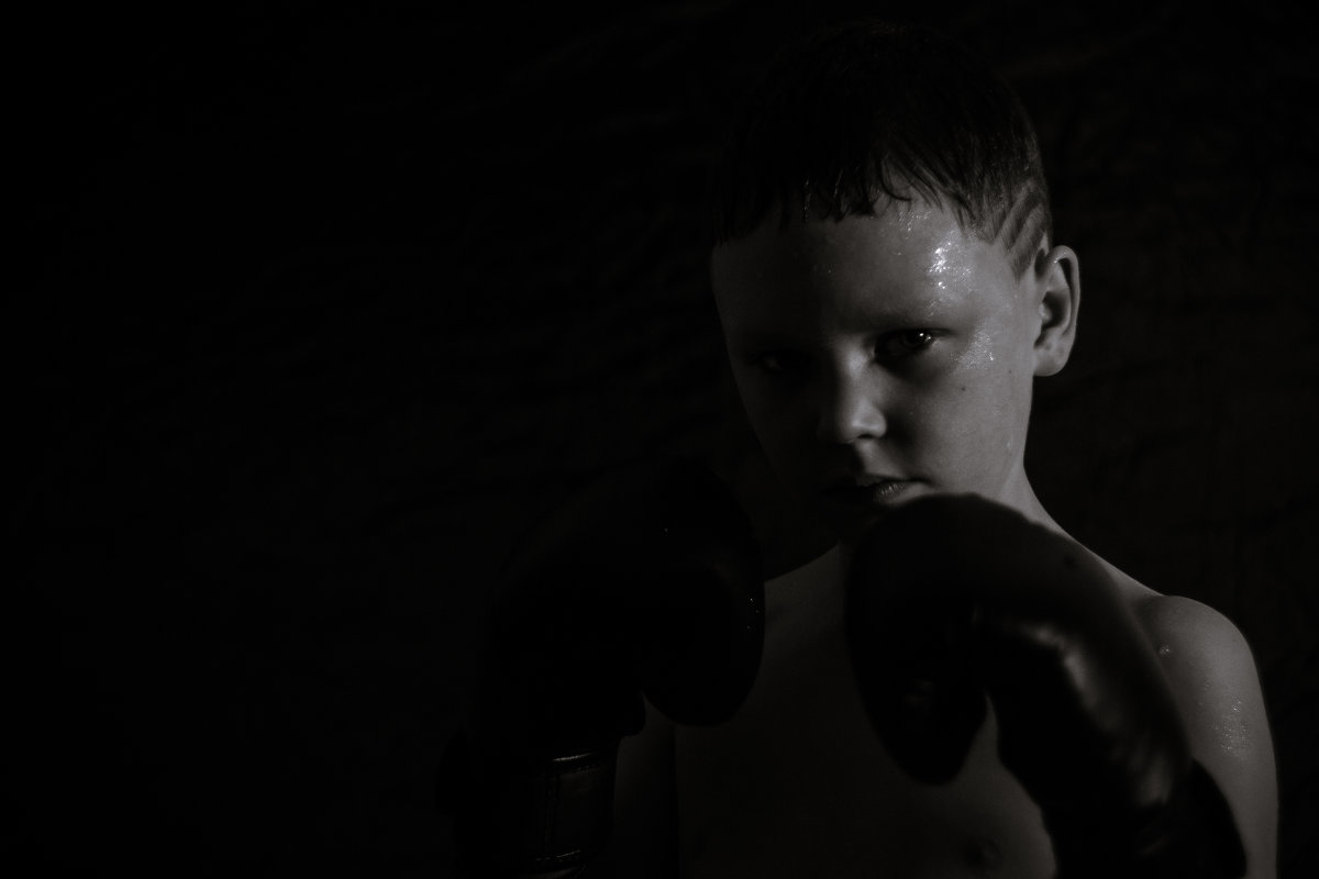 Юный боксёр - Вячеслав Васильевич Болякин