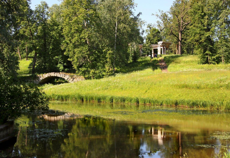 В Павловском парке - Наталья
