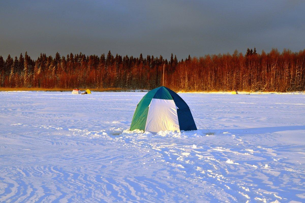 на зимней рыбалке - vg154