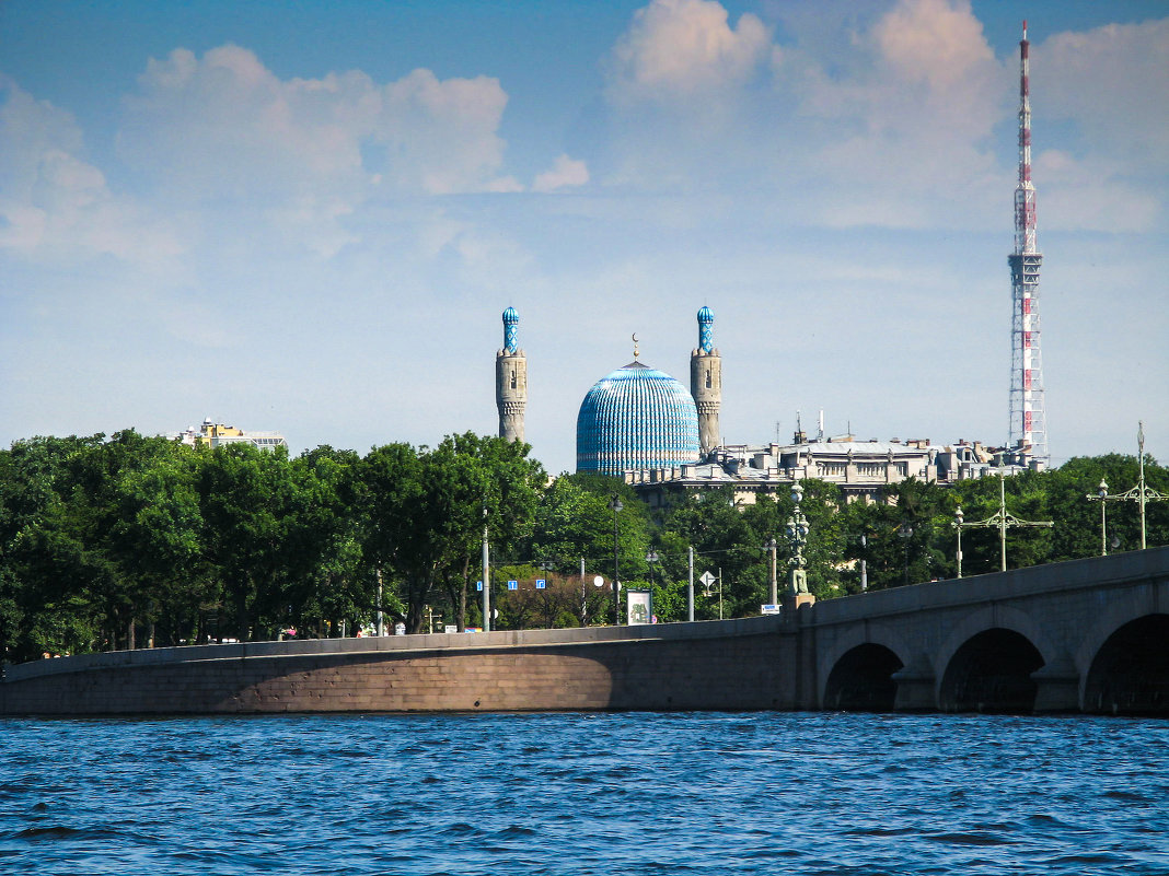 Соборная мечеть Санкт-Петербурга - Владимир Безбородов