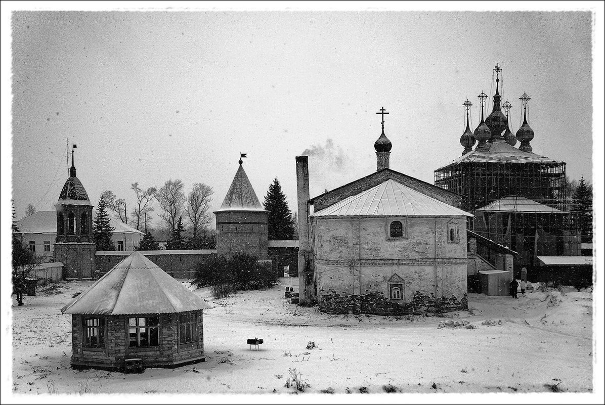 Зима за монастырскими стенами... - марк