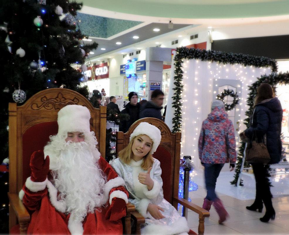 Дед Мороз устал позировать ))))) - bemam *