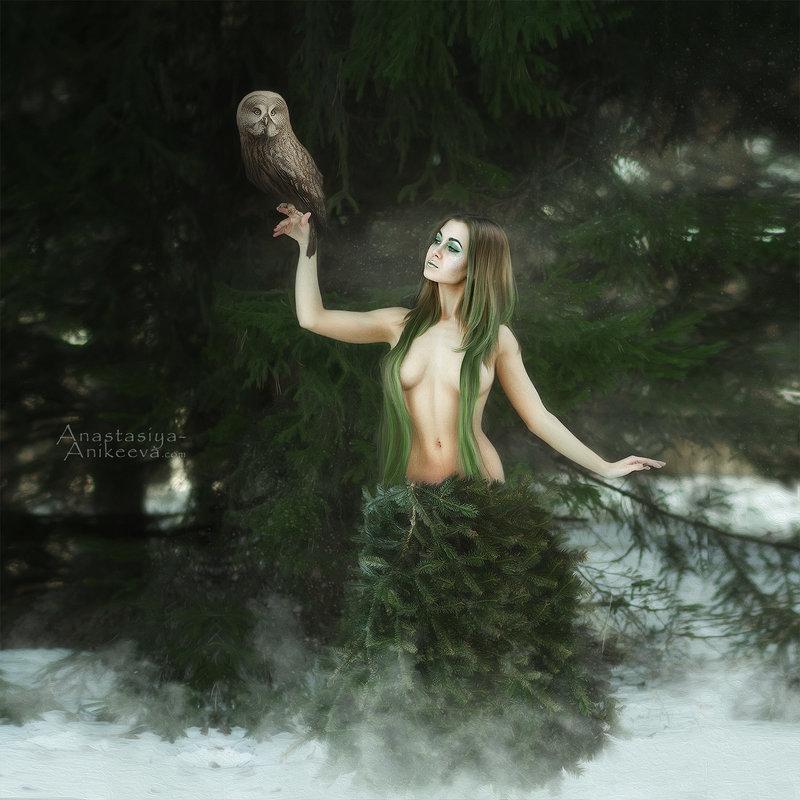 в лесу родилась... - Anastasia Anikeeva