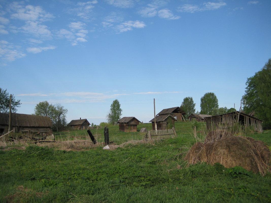 заброшенная деревня - Алексей Хохлов