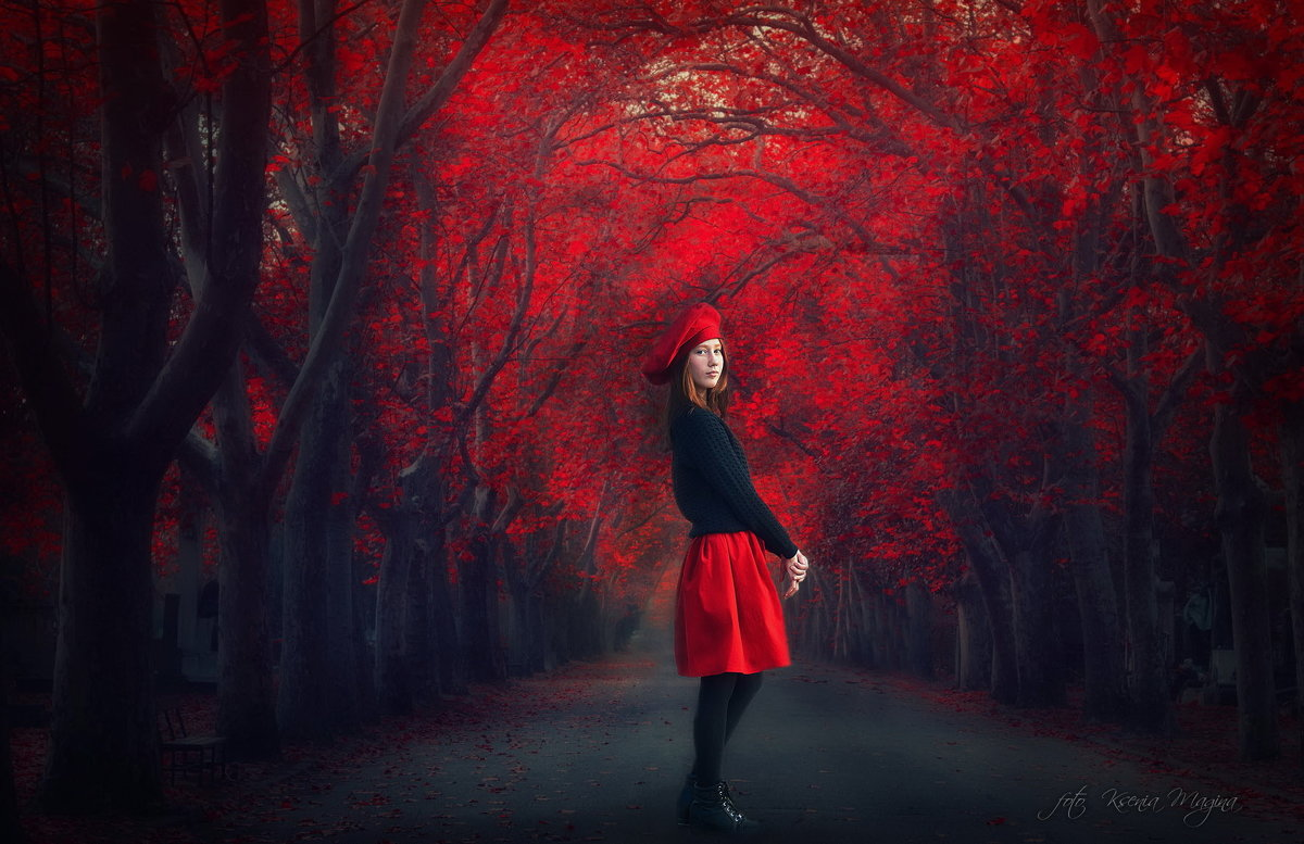 осень алая - Ксения
