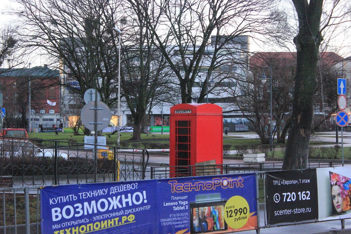 Привет Лондону из Калининграда! - Марина Домосилецкая
