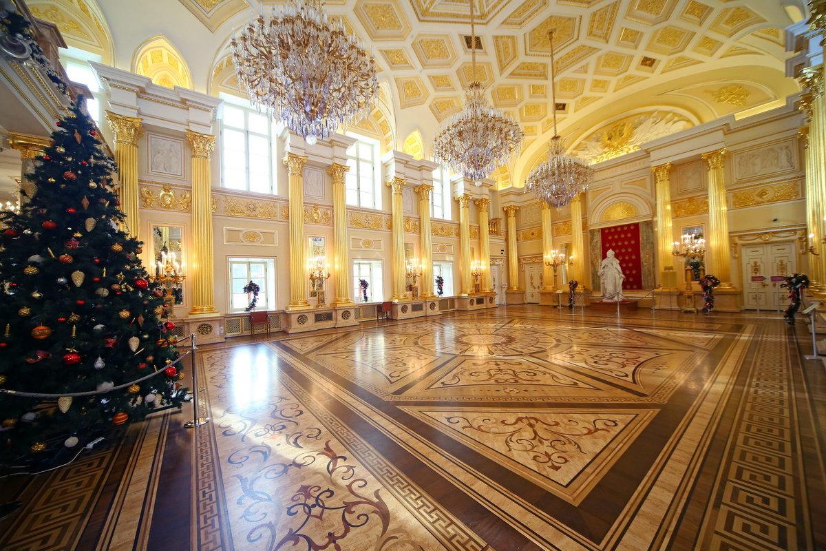 Екатерининский зал в Царицыне - Михаил Бибичков