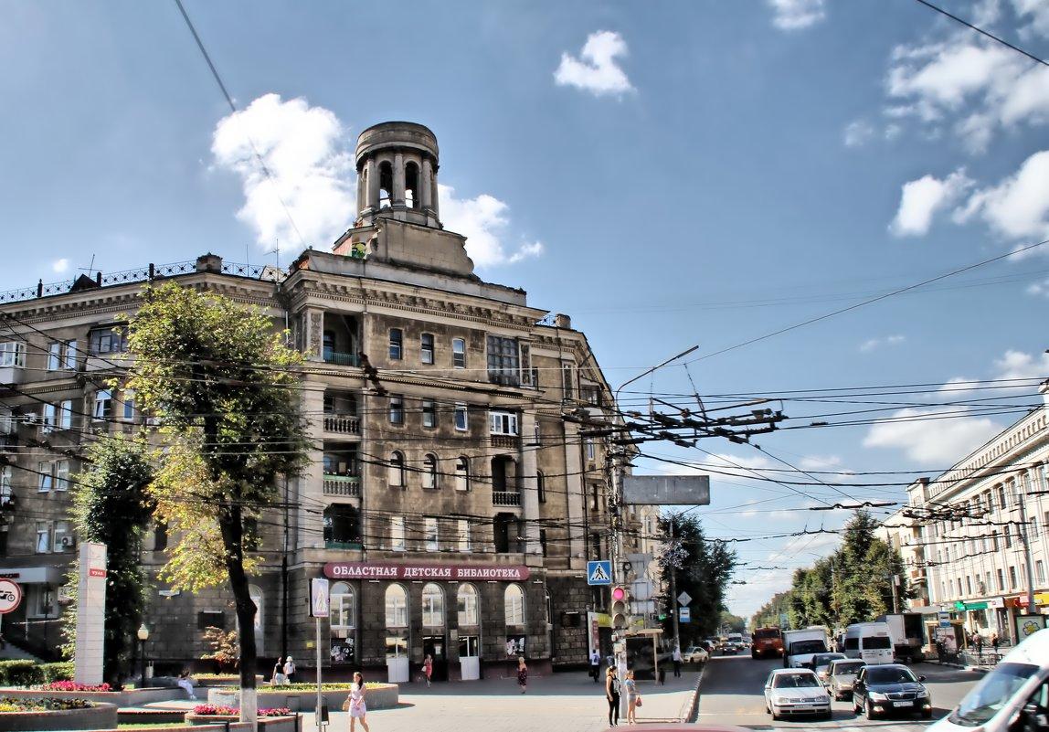 Тула,областная детская библиотека - Сергей Мухин