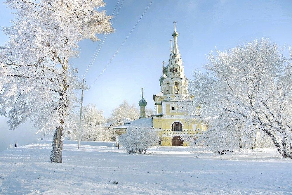 Морозное утро Рождества... - Игорь Суханов