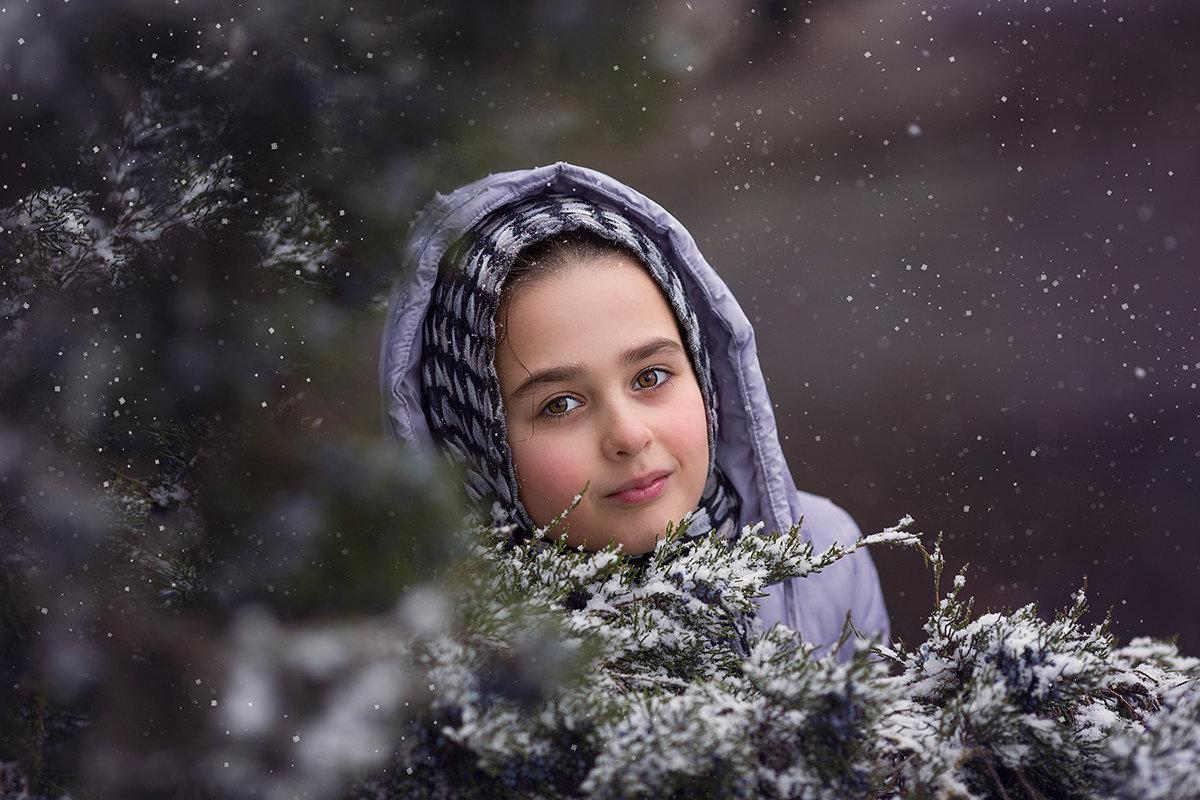 Зима - Евгения Гапонова