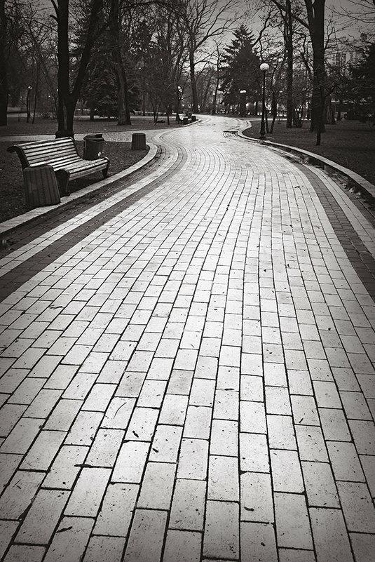 Дорожки Маріїнського парку. - Андрий Майковский