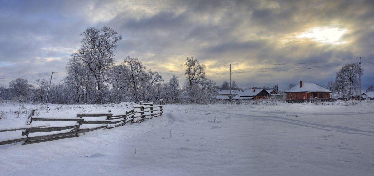 Зимний пейзаж - Константин