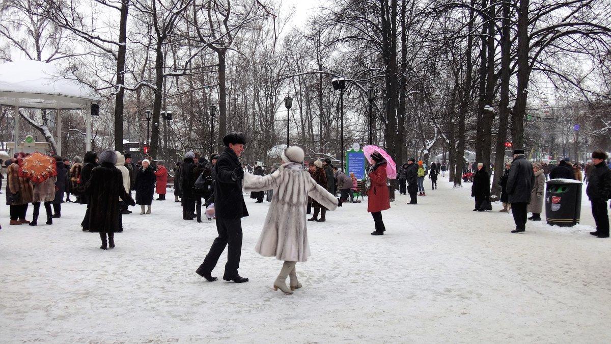 Танцы на снегу. - Лара ***