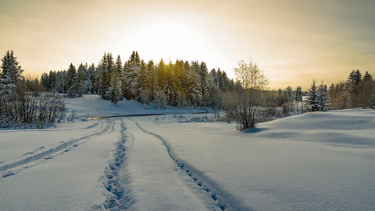 На зимнюю рыбалку... - Федор Кованский
