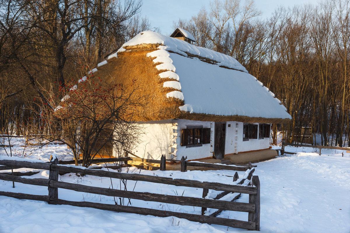 Белым снегом хата крыта. - Андрей Нибылица