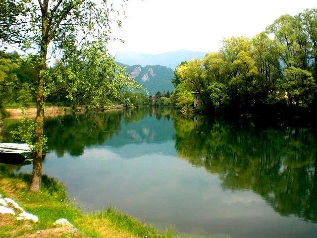 Река Адда. Италия - NataliD24