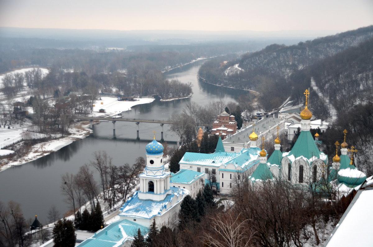 Тишина и покой. Зима в Святогорском монастыре. - Ольга Голубева