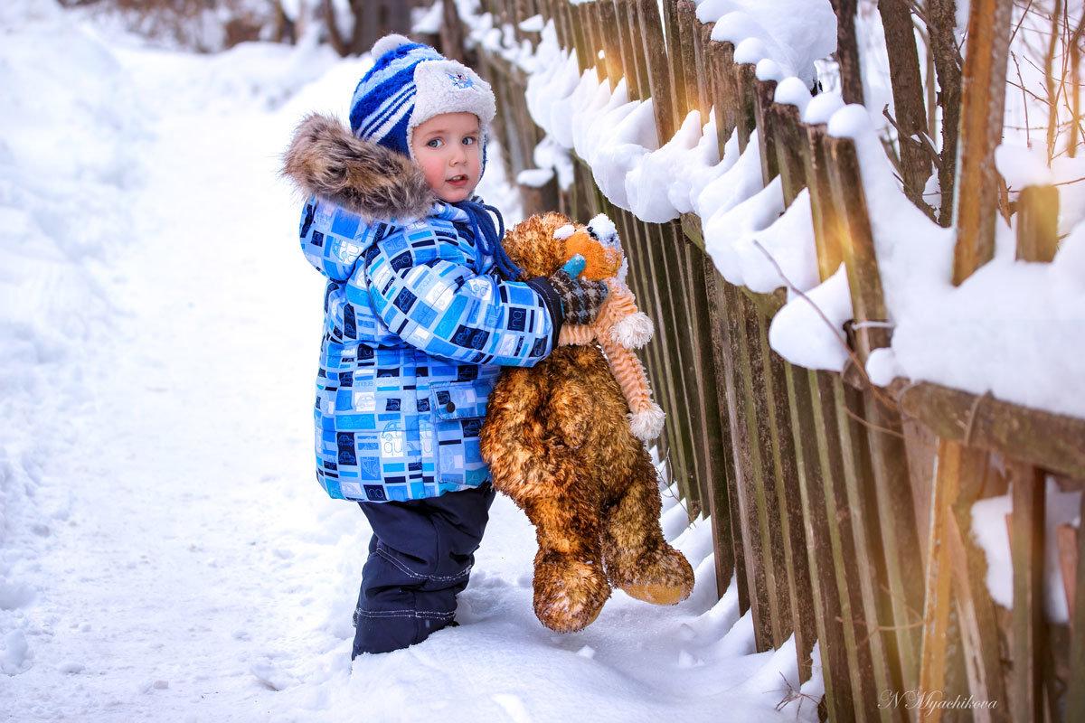 Зимняя прогулка - Наталья Мячикова