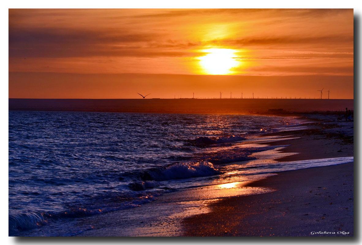 Вечер...море...волшебство... - Ольга Голубева
