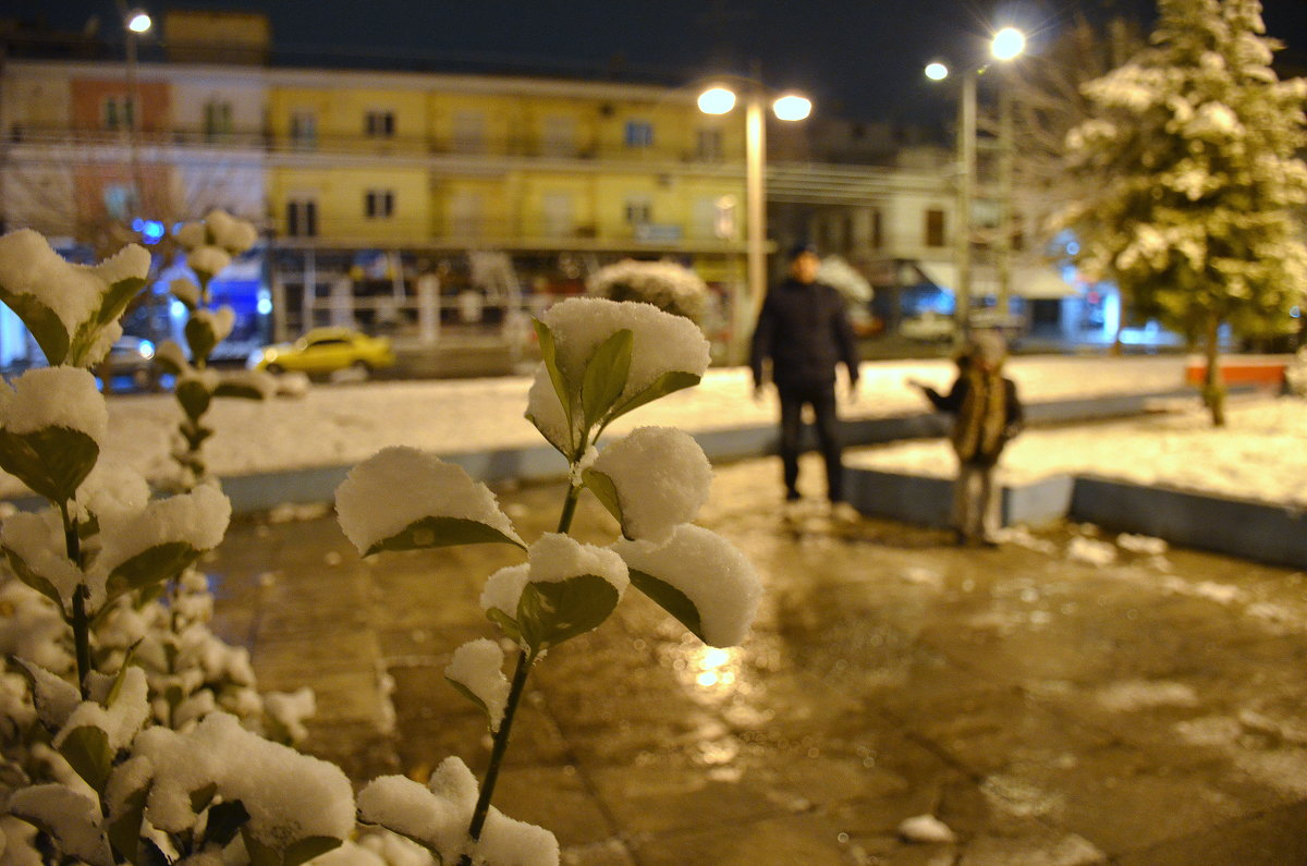 В Афинах снег!  - Сказка с России пришла! - Оля Богданович