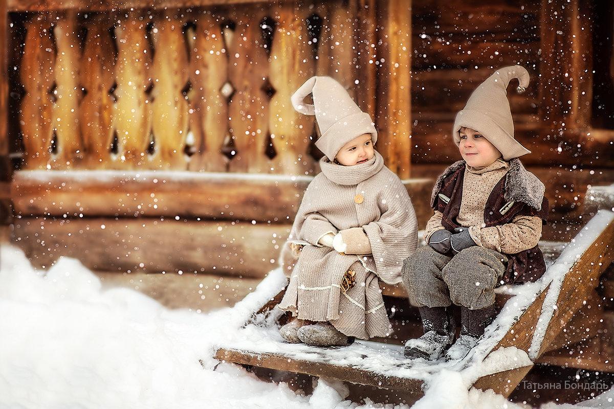 Зимняя прогулка - Татьяна Бондарь