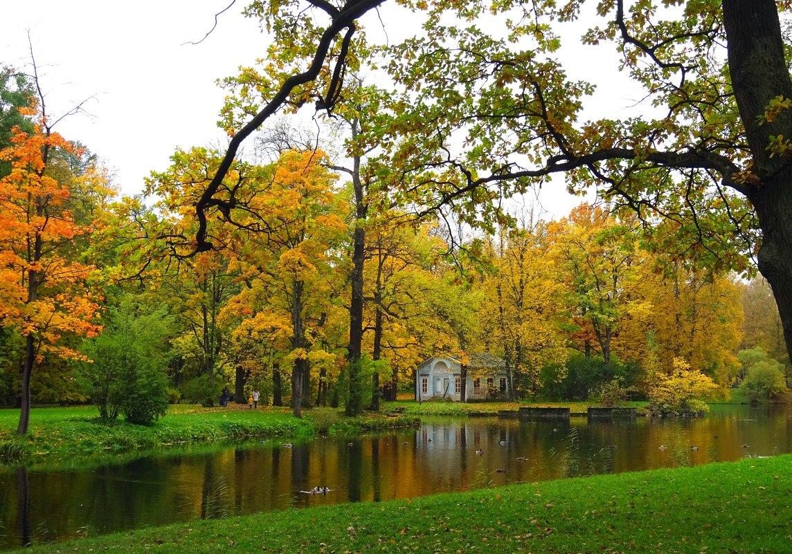 Осеньв Царском селе - GalLinna Ерошенко
