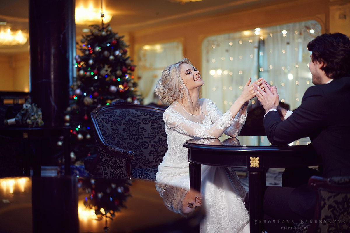 Свадебная фотосессия в отеле - Ярослава Бакуняева