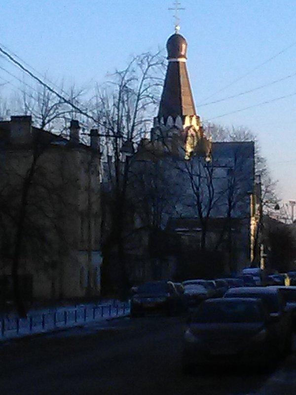 Православная церковь на ул.Роменская (Санкт-Петербург). - Светлана Калмыкова