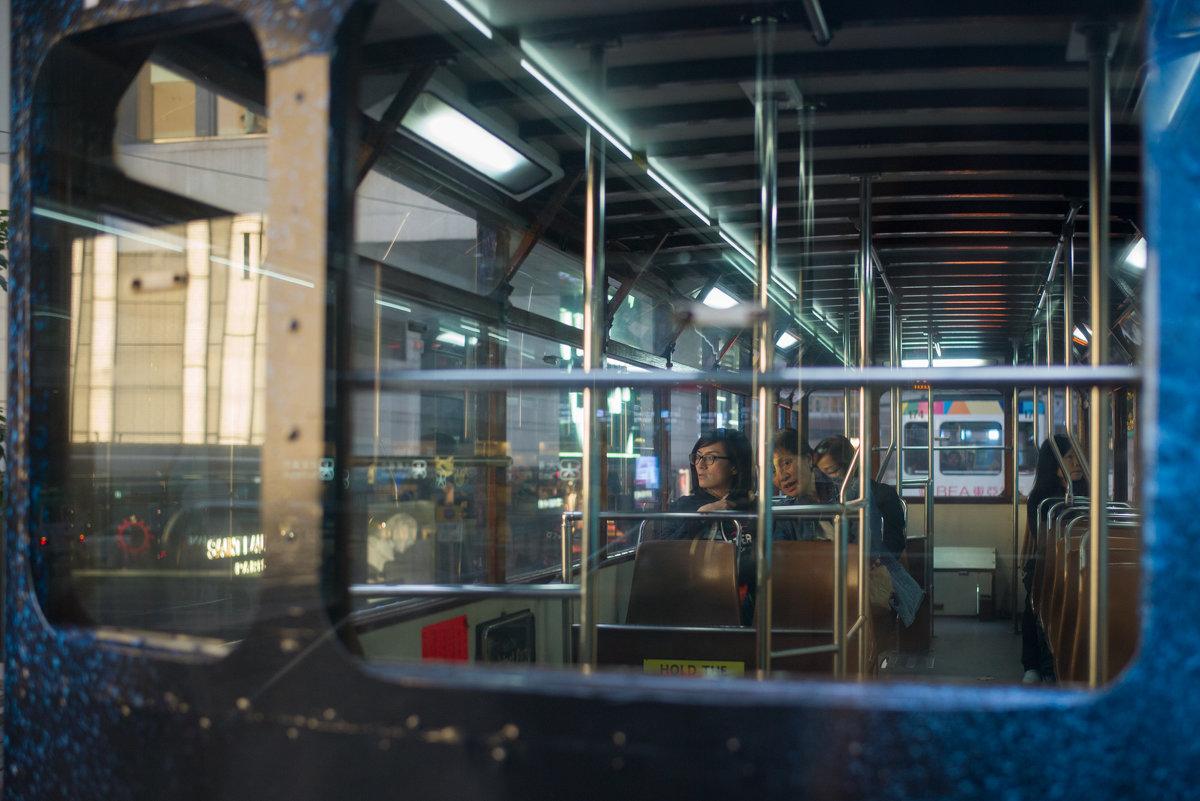 Hong Kong trams - Sofia Rakitskaia