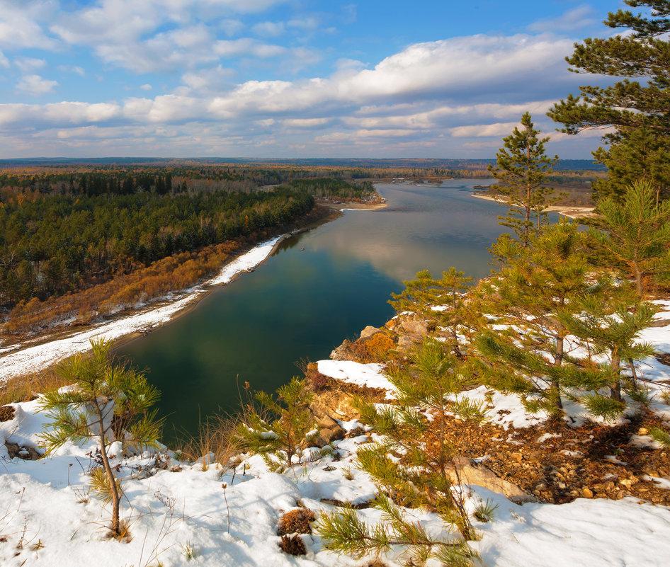 Сибирская река - Анатолий Иргл