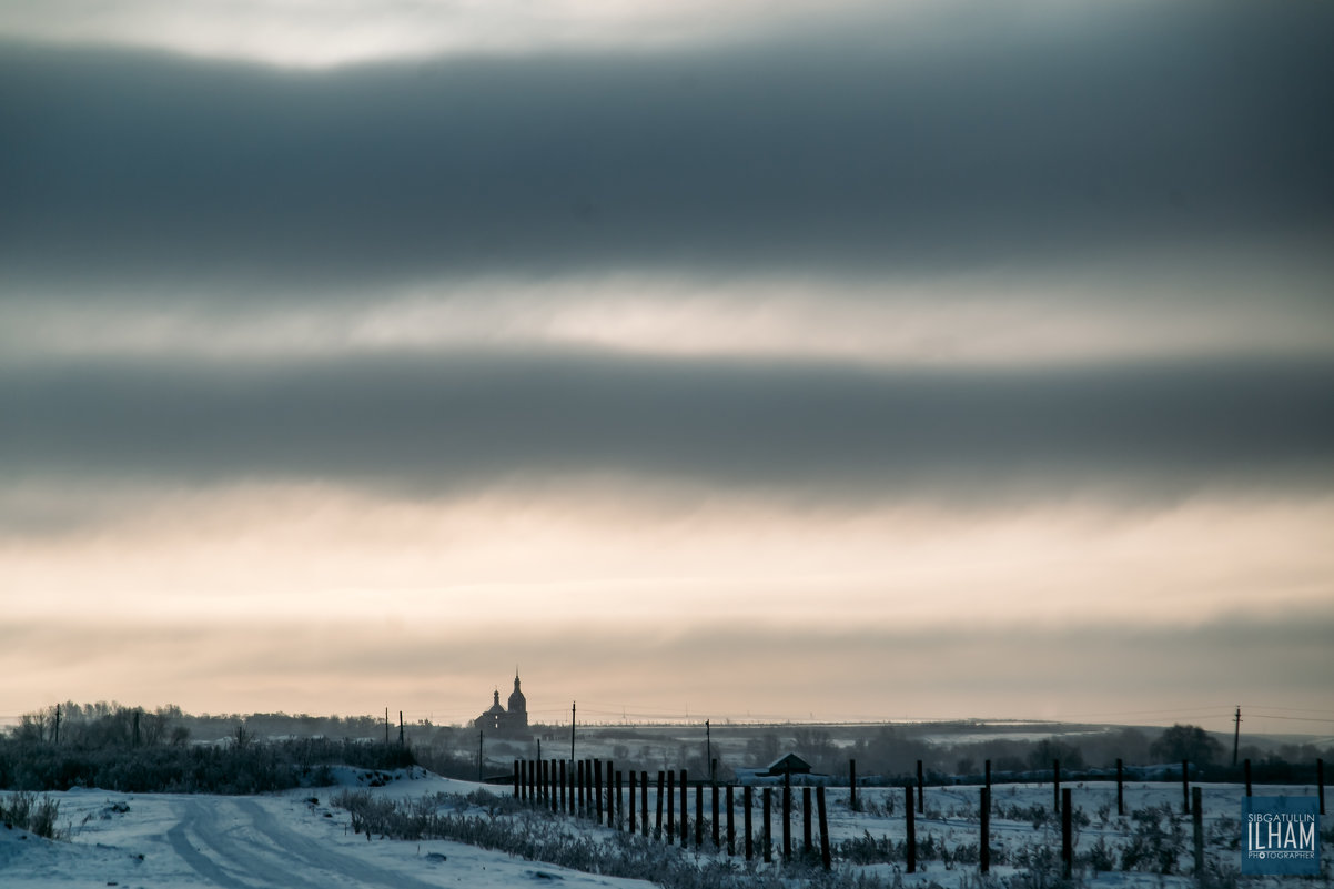Утро в деревне Алабердино - Ильхам Сибгатуллин