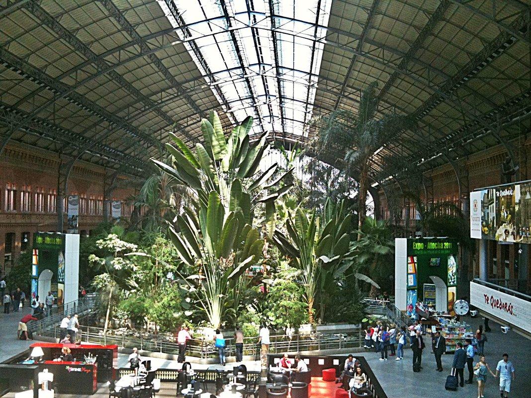 Здравствуй Мадрид! Вокзал Аточа (Atocha ) - Виталий Селиванов