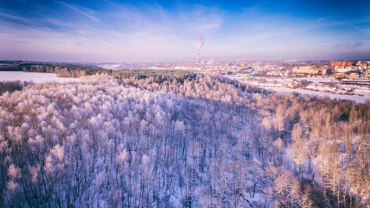Город зимы - Сергей Дубинин
