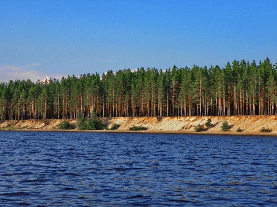 Озеро Суйстамонъярви - Владимир Ильич Батарин