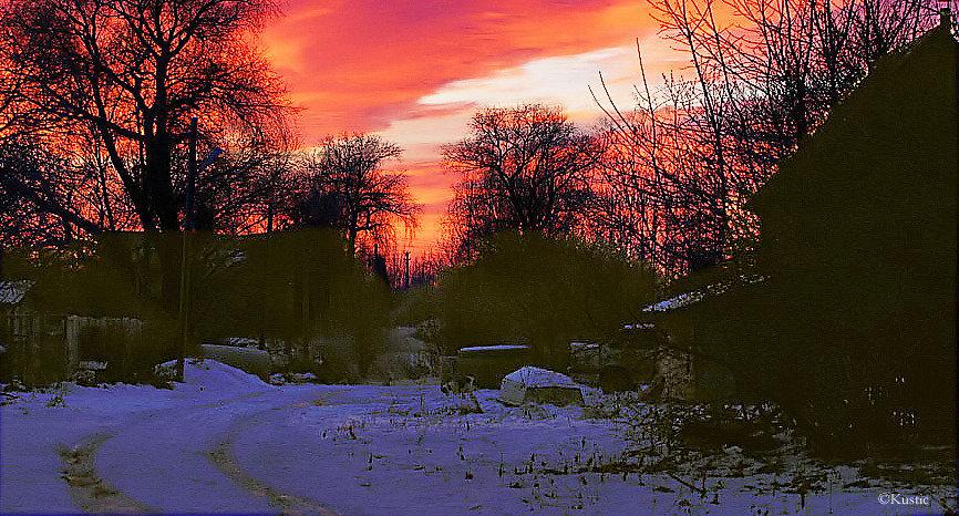 Огненный рассвет - Валентина Ломакина