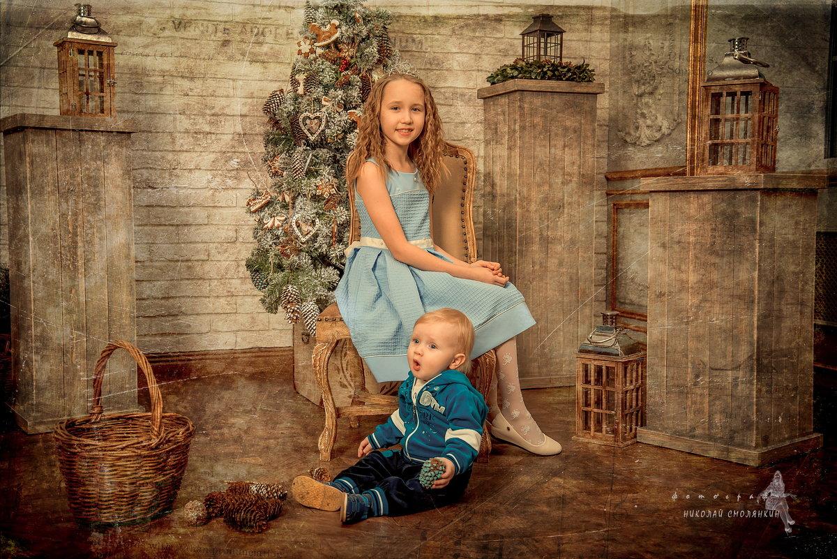 Новогодние открытки - николай смолянкин