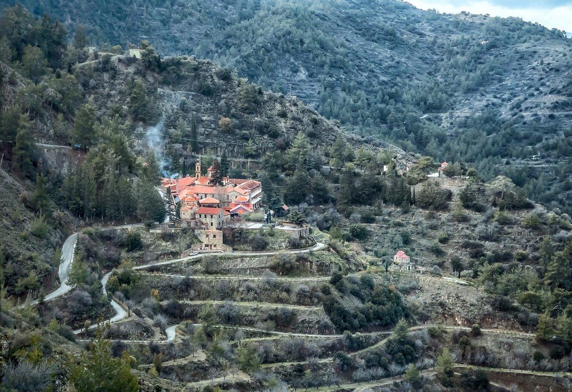 Кипр, монастырь Махерас - Виталий Авакян