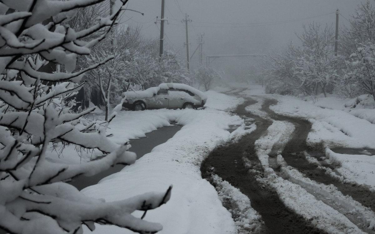 На Кубань пришла зима - Евгений Астахов