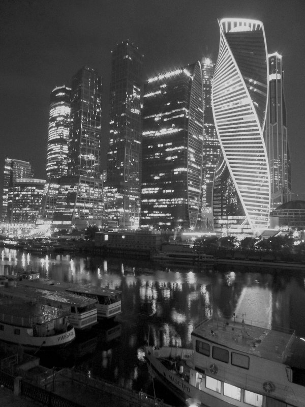 Сити в Ч/Б. - Alexey YakovLev