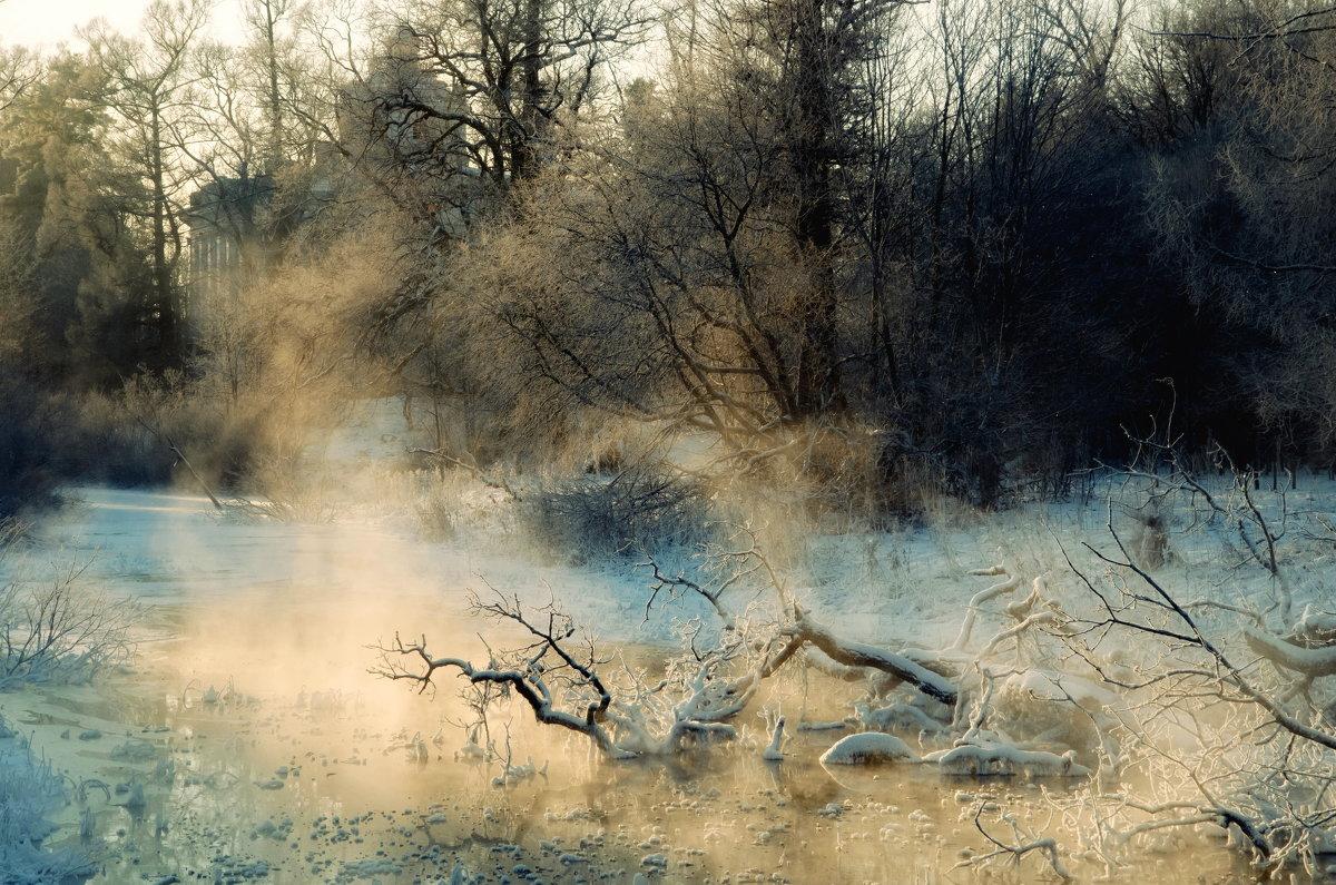 На реке Вёревке. - Ирэна Мазакина