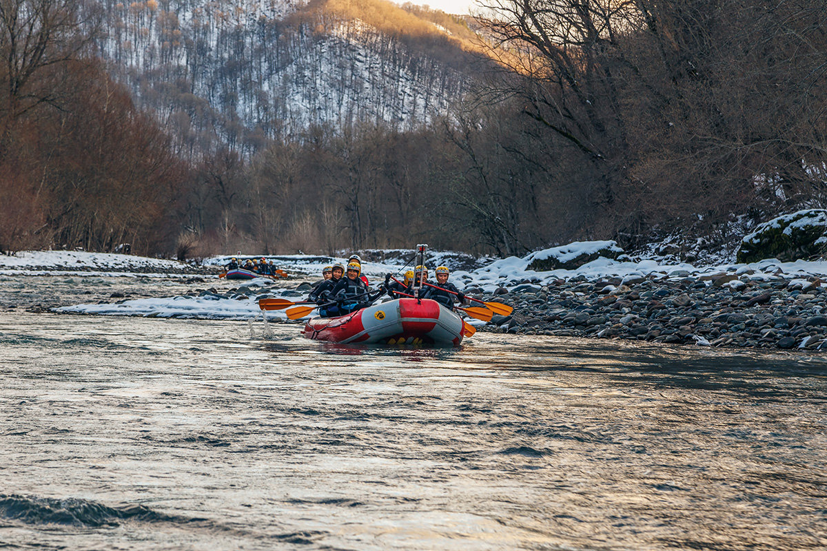Рафтинг по реке Белой - anatoly
