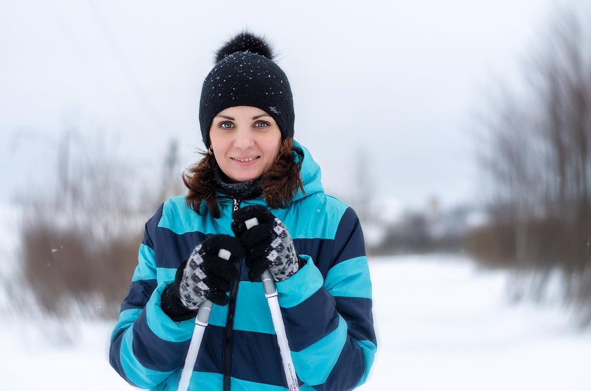 на лыжах - Николай Колобов