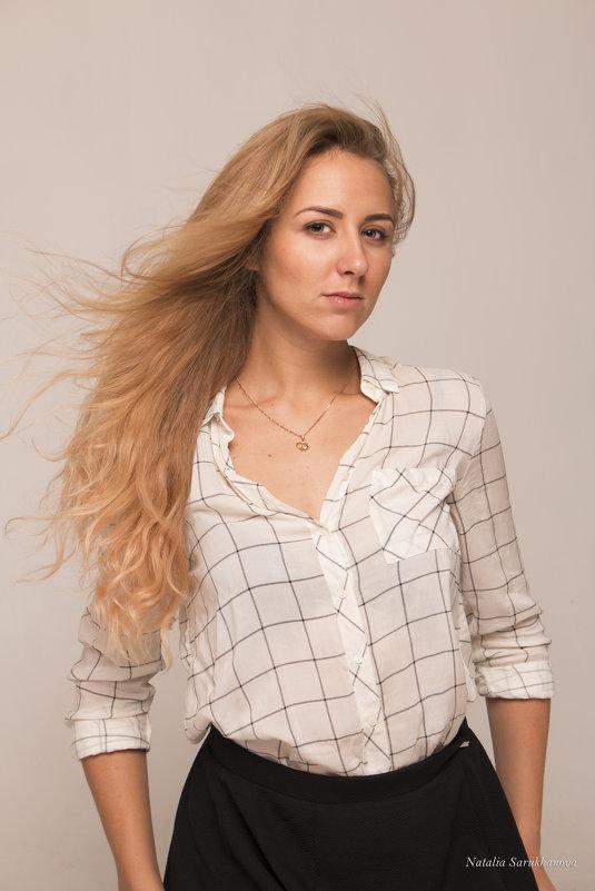 Студийный портрет - Наталья Cаруханова