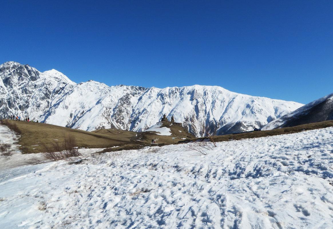 В горах Кавказа - Наталья Джикидзе (Берёзина)