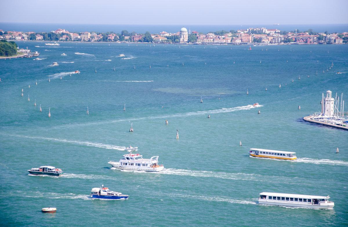 Навигация в Венеции - Наталия